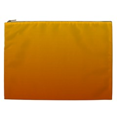 Amber To Mahogany Gradient Cosmetic Bag (XXL)
