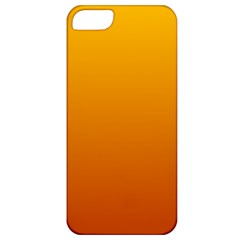Amber To Mahogany Gradient Apple iPhone 5 Classic Hardshell Case
