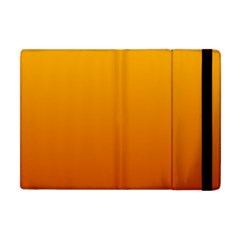 Amber To Mahogany Gradient Apple iPad Mini Flip Case