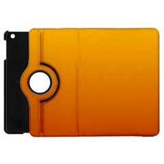 Amber To Mahogany Gradient Apple Ipad Mini Flip 360 Case