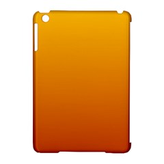 Amber To Mahogany Gradient Apple iPad Mini Hardshell Case (Compatible with Smart Cover)