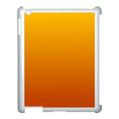 Amber To Mahogany Gradient Apple Ipad 3/4 Case (white)