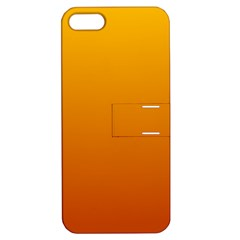 Amber To Mahogany Gradient Apple Iphone 5 Hardshell Case With Stand