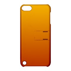 Amber To Mahogany Gradient Apple iPod Touch 5 Hardshell Case with Stand
