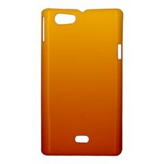 Amber To Mahogany Gradient Sony Xperia Miro Hardshell Case