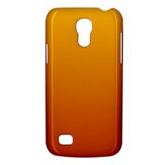 Amber To Mahogany Gradient Samsung Galaxy S4 Mini Hardshell Case