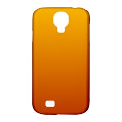 Amber To Mahogany Gradient Samsung Galaxy S4 Classic Hardshell Case (PC+Silicone)