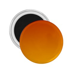 Mahogany To Amber Gradient 2 25  Button Magnet
