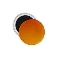 Mahogany To Amber Gradient 1 75  Button Magnet