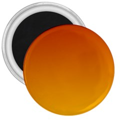 Mahogany To Amber Gradient 3  Button Magnet