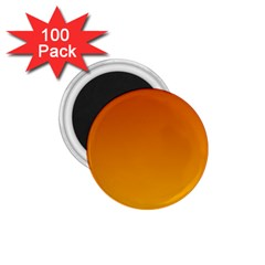 Mahogany To Amber Gradient 1 75  Button Magnet (100 Pack)