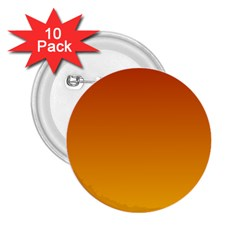 Mahogany To Amber Gradient 2.25  Button (10 pack)