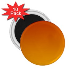 Mahogany To Amber Gradient 2 25  Button Magnet (10 Pack)