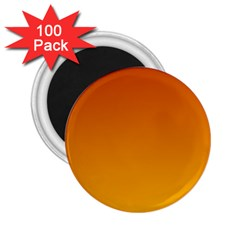 Mahogany To Amber Gradient 2.25  Button Magnet (100 pack)