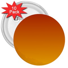Mahogany To Amber Gradient 3  Button (10 pack)