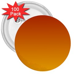 Mahogany To Amber Gradient 3  Button (100 pack)