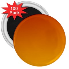 Mahogany To Amber Gradient 3  Button Magnet (100 Pack)