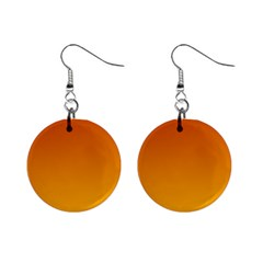 Mahogany To Amber Gradient Mini Button Earrings