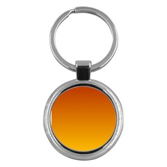 Mahogany To Amber Gradient Key Chain (round)