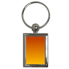 Mahogany To Amber Gradient Key Chain (Rectangle)