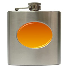 Mahogany To Amber Gradient Hip Flask
