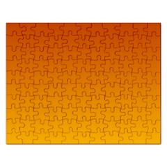 Mahogany To Amber Gradient Jigsaw Puzzle (rectangle)