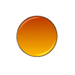 Mahogany To Amber Gradient Golf Ball Marker 4 Pack (for Hat Clip)