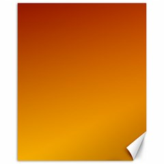 Mahogany To Amber Gradient Canvas 16  x 20  (Unframed)