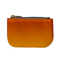 Mahogany To Amber Gradient Coin Change Purse