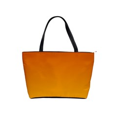 Mahogany To Amber Gradient Large Shoulder Bag