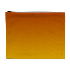 Mahogany To Amber Gradient Cosmetic Bag (XL)