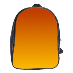 Mahogany To Amber Gradient School Bag (Large)