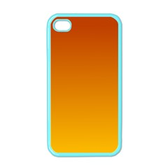 Mahogany To Amber Gradient Apple iPhone 4 Case (Color)