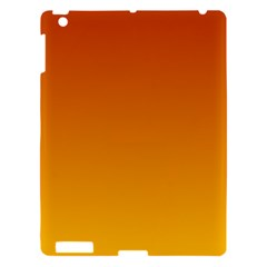 Mahogany To Amber Gradient Apple Ipad 3/4 Hardshell Case