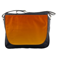 Mahogany To Amber Gradient Messenger Bag