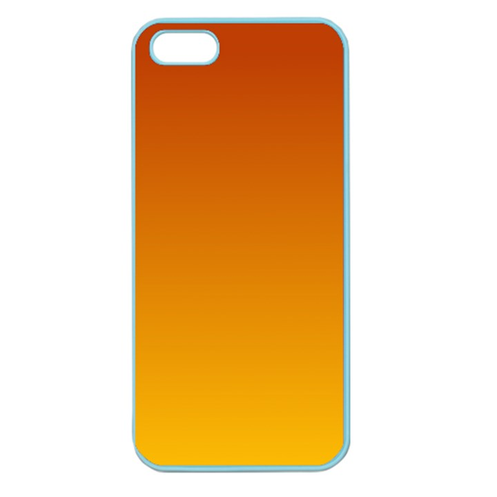 Mahogany To Amber Gradient Apple Seamless iPhone 5 Case (Color)