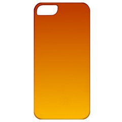 Mahogany To Amber Gradient Apple iPhone 5 Classic Hardshell Case