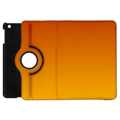 Mahogany To Amber Gradient Apple iPad Mini Flip 360 Case