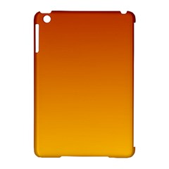Mahogany To Amber Gradient Apple Ipad Mini Hardshell Case (compatible With Smart Cover)