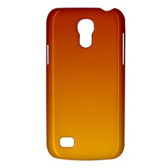 Mahogany To Amber Gradient Samsung Galaxy S4 Mini Hardshell Case