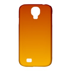 Mahogany To Amber Gradient Samsung Galaxy S4 Classic Hardshell Case (PC+Silicone)
