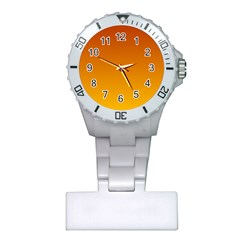 Mahogany To Amber Gradient Nurses Watch