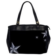 Grunge Oversize Office Handbag (one Side)