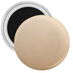 Champagne To Tan Gradient 3  Button Magnet