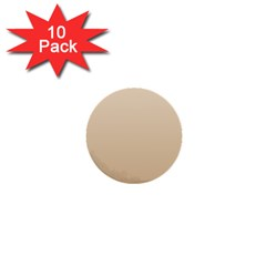 Champagne To Tan Gradient 1  Mini Button (10 pack)
