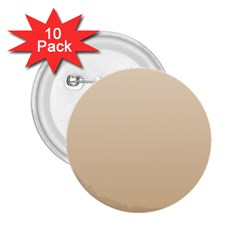 Champagne To Tan Gradient 2.25  Button (10 pack)