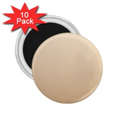 Champagne To Tan Gradient 2 25  Button Magnet (10 Pack)