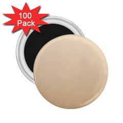Champagne To Tan Gradient 2.25  Button Magnet (100 pack)