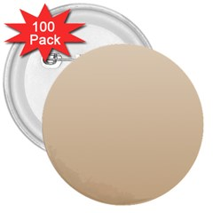 Champagne To Tan Gradient 3  Button (100 Pack)
