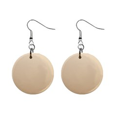 Champagne To Tan Gradient Mini Button Earrings